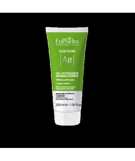 EuPhidra - Sebanorm Ag - Gel detergente normalizzante - 200ml