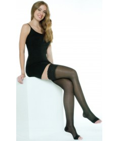 Medi - Swing Sensation - Calze a compressione graduata Punta Aperta 140 denari 18 mmHg - Autoreggente