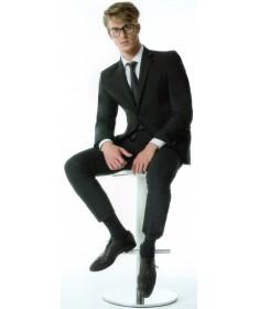 Medi - Swing Man Cotton - Calze a compressione graduata in cotone 15 mmHg - Gambaletto