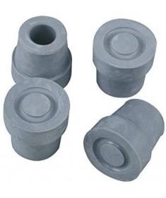 MORETTI - Mopedia - Puntali di ricambio anti-scivolo per quadripode base stretta (4 pezzi)