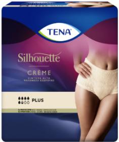 TENA - Silhouette - Plus Crème Vita alta – Mutandine assorbenti femminili