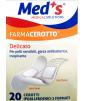 Med's - FarmaCerotto - Delicato cerotto strip polietilene 2 formati (20 pezzi)