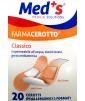 Med's - FarmaCerotto - Classico cerotto strip polietilene (20 pezzi)