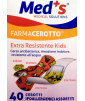 Med's - FarmaCerotto - Extra resistente Kids cerotto strip polietilene assortiti (40 pezzi)