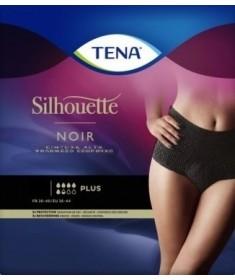 TENA - Silhouette - Noir Vita Alta - Mutandine assorbenti femminili