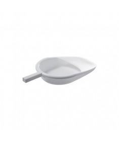 Padella in plastica bianca autoclavabile