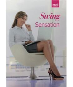 Medi - Swing Sensation - Calze a compressione graduata Punta Aperta 140 denari 18 mmHg - Collant