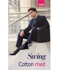 Medi - Swing Man COTTON MED - Calze a compressione graduata in cotone 15 mmHg - Gambaletto