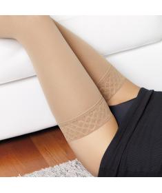 Medi - Cotton Maxis - Calze compressive medicali in cotone classe di compressione 1, punta aperta - AG Autoreggente
