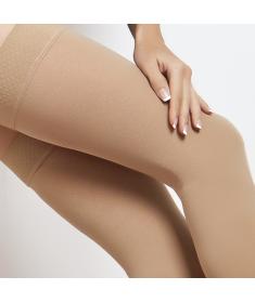 Medi - Cotton Maxis - Calze compressive medicali in cotone classe di compressione 2, punta aperta - AG Autoreggente